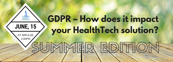 GDPR – How does it impact your HealthTech solution-